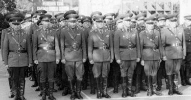 Офицеры МВВПОУ