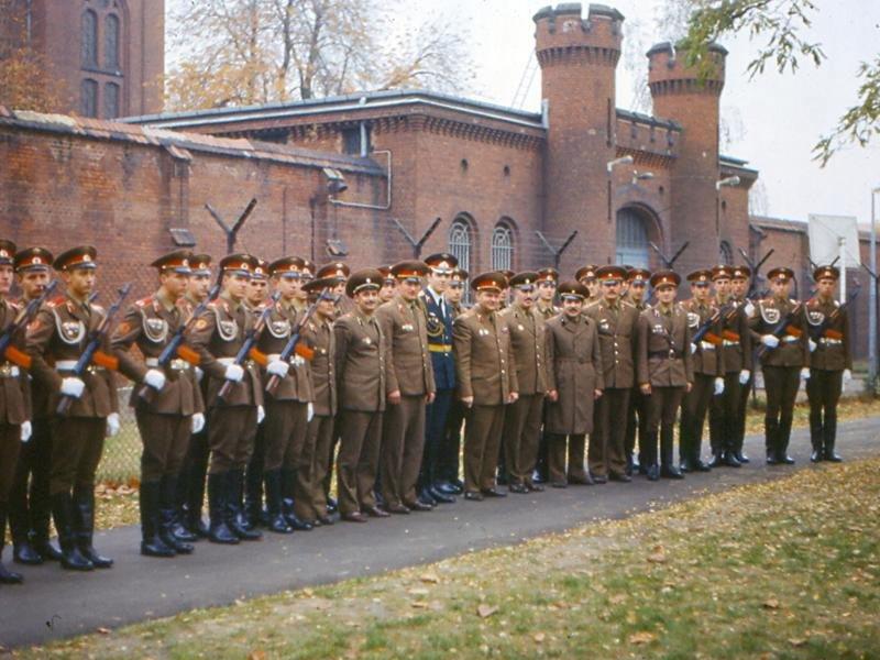 Тюрьма Шпандау в Западном Берлине