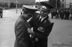Выпуск иностранных военнослужащих