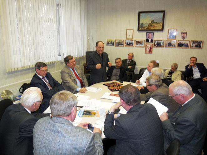 заседание Организационного комитета по подготовке 3-й Всероссийской встречи выпускников