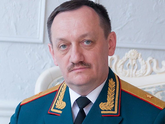 Генерал-майор Кожанов Сергей Александрович