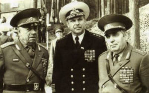 А.А. Епишев, А.И. Сорокин, М.Г. Соболев
