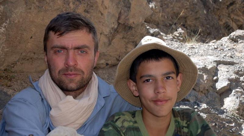 Комаров Константин с сыном