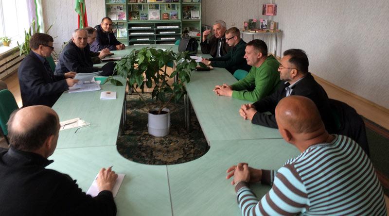 Заседание оргкомитета встречи