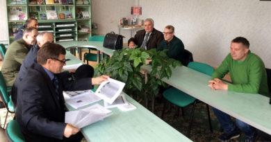 Заседание оргкомитета