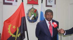 Президент Анголы Жоау Лоуренсу
