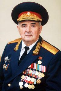 Генерал-майор в отставке Владимир Фёдорович Бамбуров