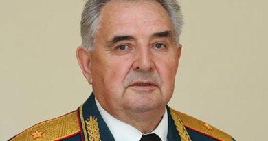 Поздравляем генерал-майора Бамбурова В.Ф. с 80-летием