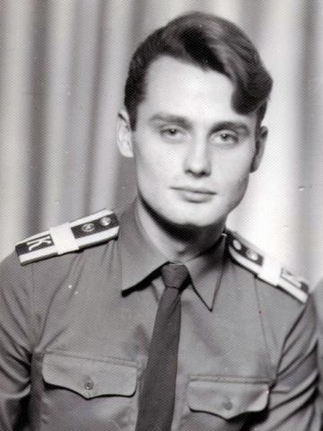 Старший сержант Валентин Волчек