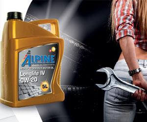 Автомобильное масло Alpine
