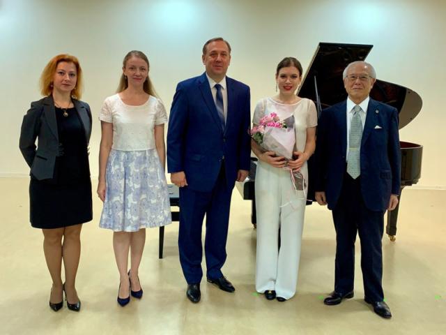Концерт белорусской пианистки Ольги Стежко