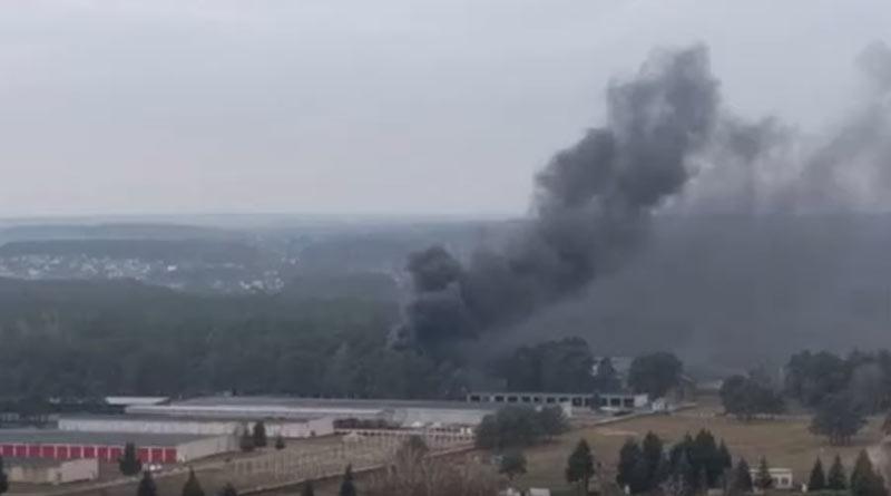 Пожар в 6 ОМБр