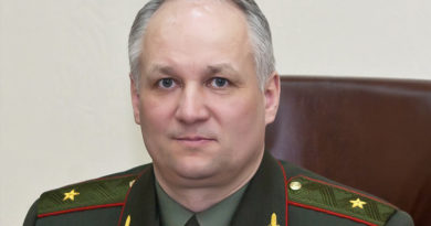 Генерал майор Виктор Александрович Лисовский