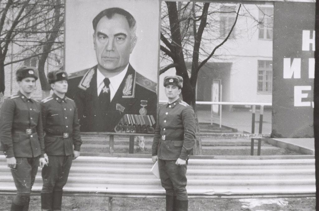 Портрет Дмитрия Язова