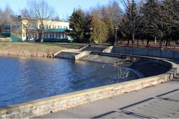 Первое озеро в Лиде