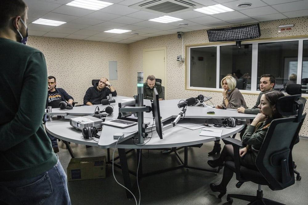 Отдел интернет вещания в ВАЯР